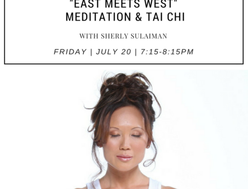 Meditation + Intro to Tai Chi at 7:15PM on Friday July 20th at Unplug West Hollywood